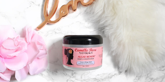 Product Review: Camille Rose Naturals Algae Renew Deep Conditioner | HairliciousInc.com