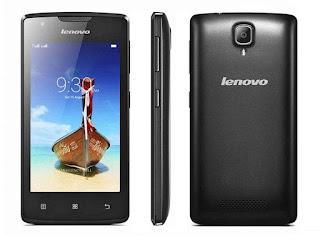 Harga Lenovo A1000 Terbaru, Spesifikasi Jaringan 3G Android dan RAM 1 GB