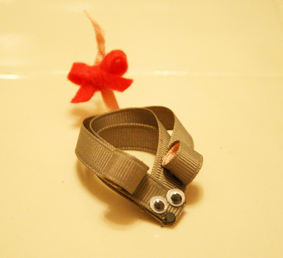 Mouse hair clip tutorial | I Like Big Bows