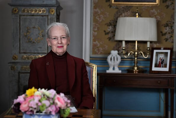Queen Margrethe gave a speech to the nation about the serious situation associated with the spread of coronavirus