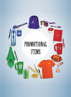 Offer free promotional items to improve sales