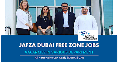 New Job Vacancies In Jafza Dubai-UAE