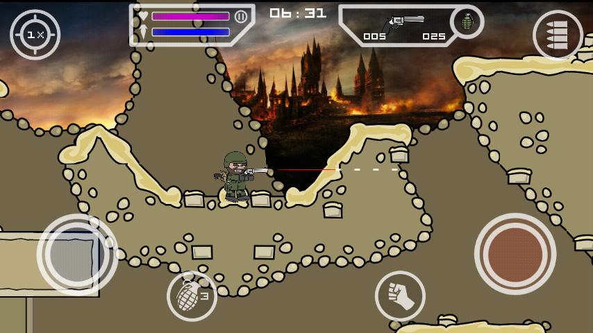 mini militia mod apk latest version download unlimited ammo and health