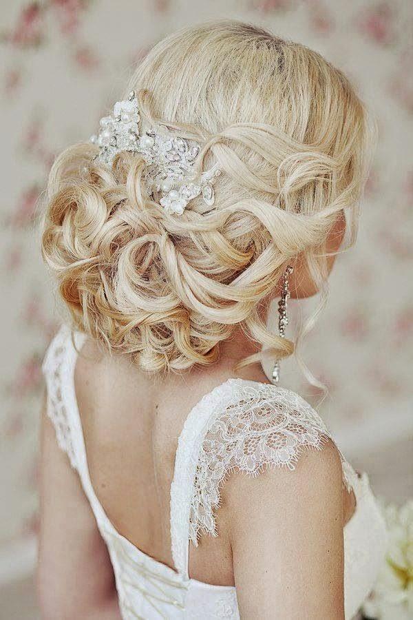 Peinados Para Mujer Hombre Y Ninos Adornos En El Pelo Para El Dia - Adornos-de-novia-para-el-cabello