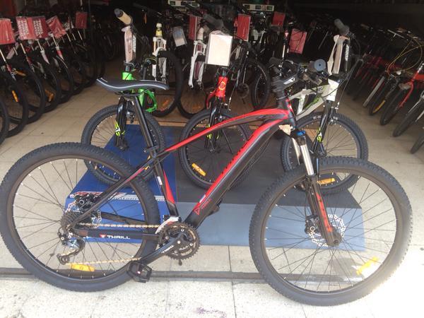 Sepeda Mtb 27 5 Inch Thrill Vanquish 1 0 27speed Alivio Hidrolik Rp 2600 000 Toko Sarana Sepeda