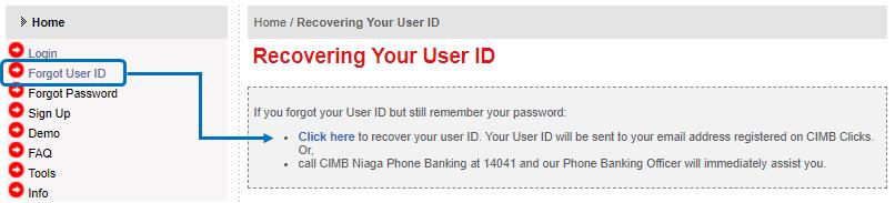 Lupa User ID Cimb Clicks Bank Niaga - Berbagi73