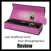 Lee Stafford Hair Straighteners with title overlaid