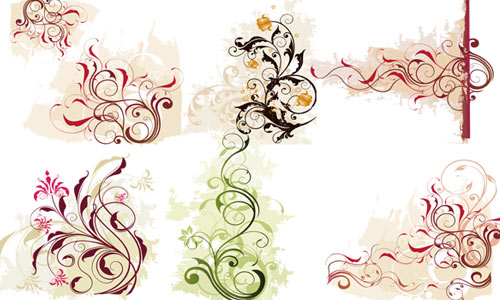 30 Beautiful Ornaments Vector for Free Download