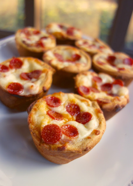 pizza cupcake