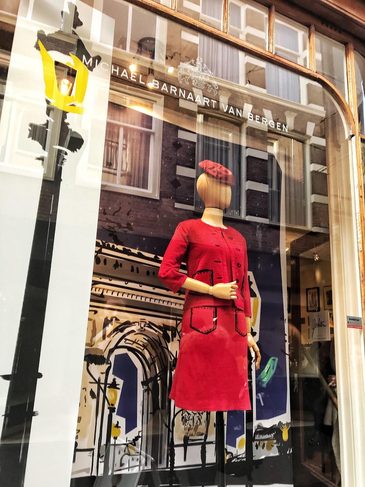 Audrey Hepburn fashion style in Michael Barnaart The Hague