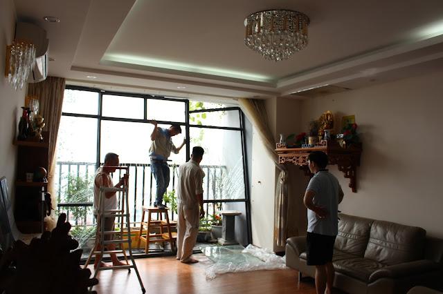 Dịch vụ sơn sửa lại căn hộ trọn gói giá rẻ tại quận 7