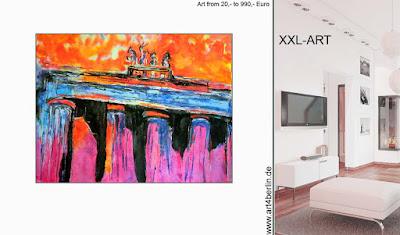 Xxl Bilder Berlin Leinwandbilder Malerei Kaufen