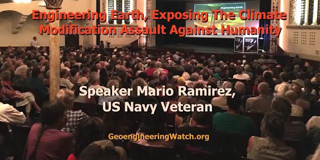 Veterano de la Marina de EE.UU. expone la Geoingeniería
