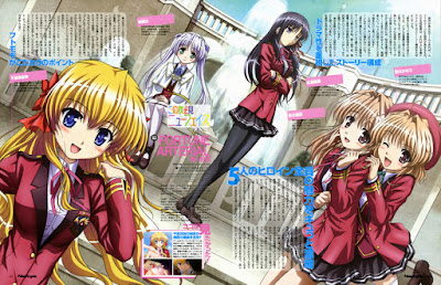 تحميل ومشاهدة جميع حلقات انمي Fortune Arteria - Akai Yakusoku مترجم عدة روابط