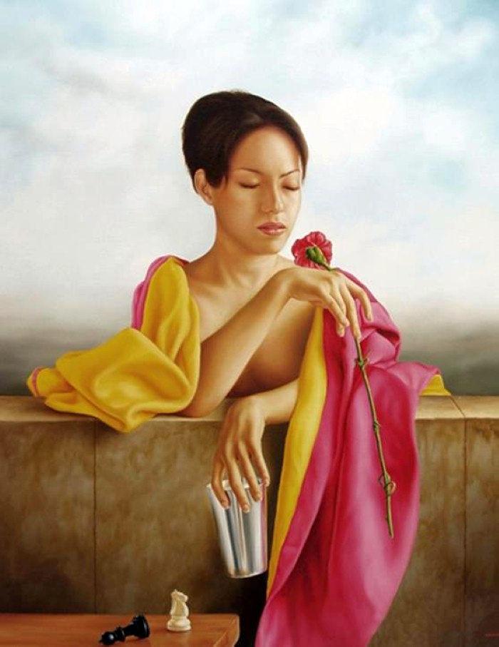 Современный художник-реалист. Carlos Oviedo 7