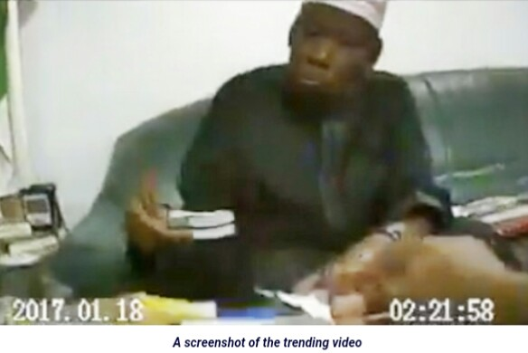 New Video Shows Kano Governor In Black Receiving Dollars