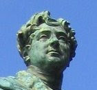 Head of statue of George IV, Brighton