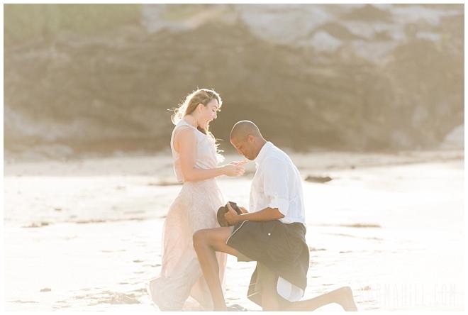 Maui Beach Surprise Proposal Photographer