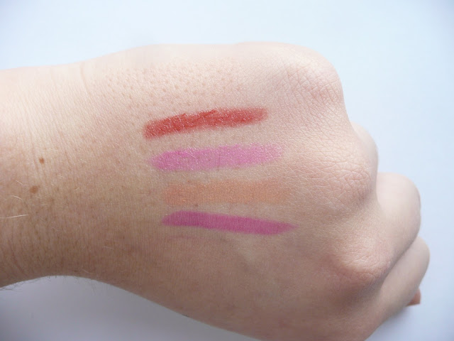Revlon Just Bitten Kissable Balm Stains High Street Lips Swatch