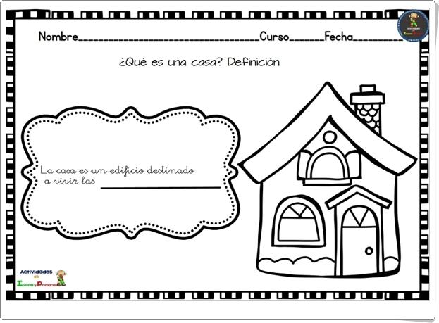 """Proyecto de Educación Infantil """"La casa"""""""