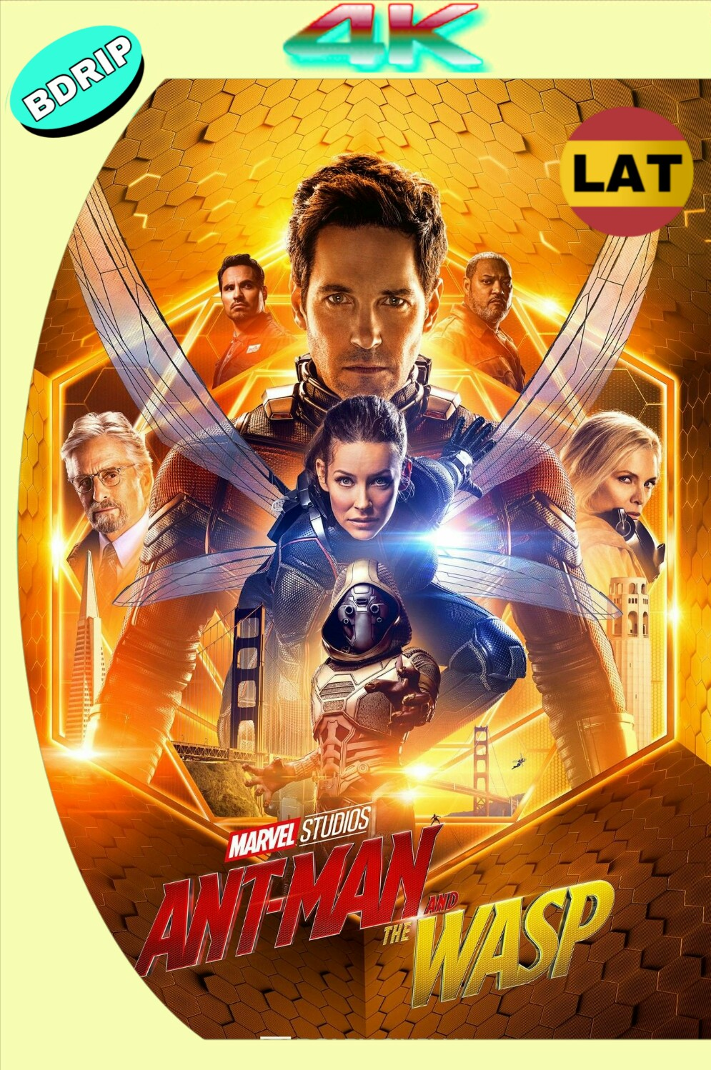 ANT-MAN AND THE WASP (2018) BDRIP 2160P UHD LATINO-INGLES