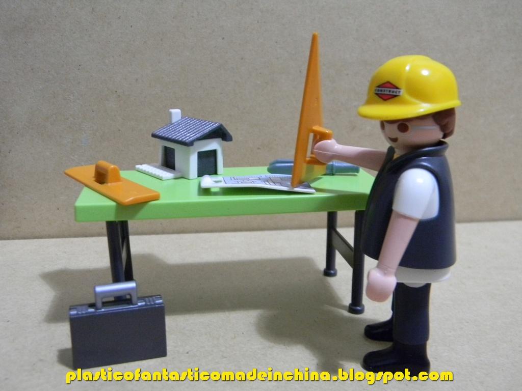 Pl stico fant stico madeinchina playmobil special plus - Mesas de arquitecto ...