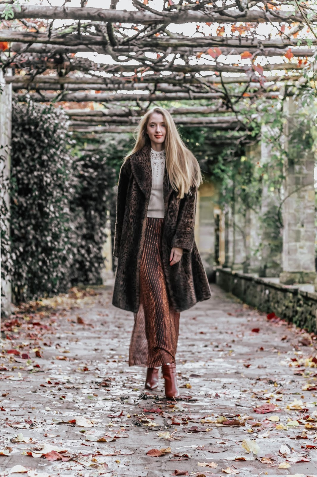 Luxury Fashion Blogger Luxurious Winter Outfit