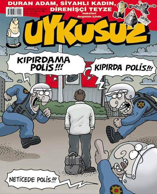 Uykusuz Dergisi | 20 Haziran 2013 Kapak Karikatürü