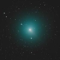 Kometa 46P/Wirtanen, zdjęcie z 07.11.2018 r. Credit: Alex Cherney