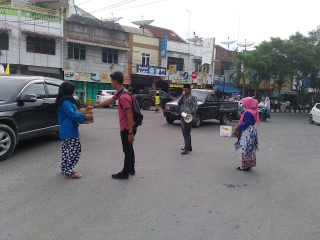 PC PMII Asahan-Tanjungbalai mengumpulkan bantuan untuk korban gempa dan tsunami di Palu
