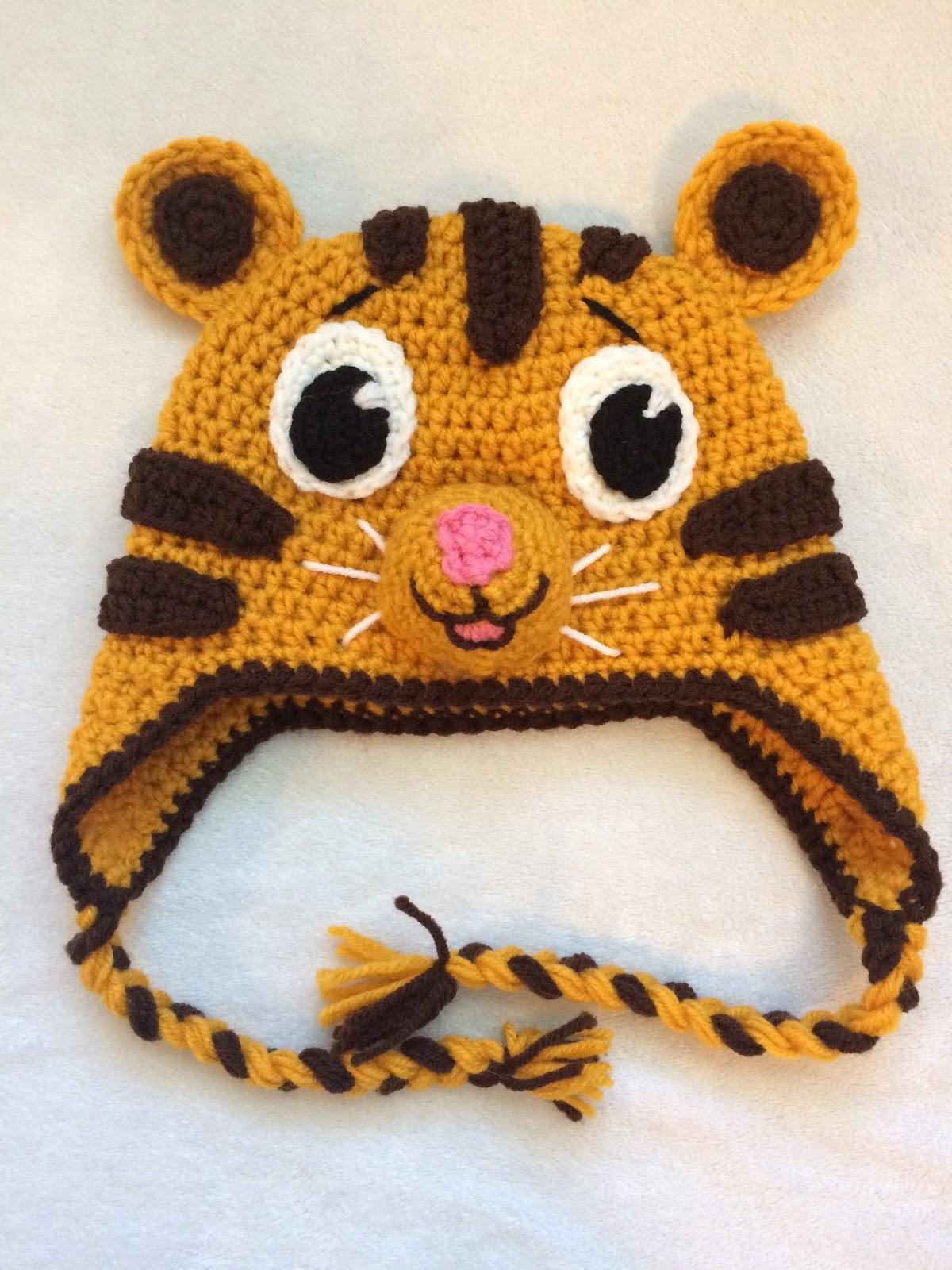 Crochet Tiger Hat Pattern - FREE!!!