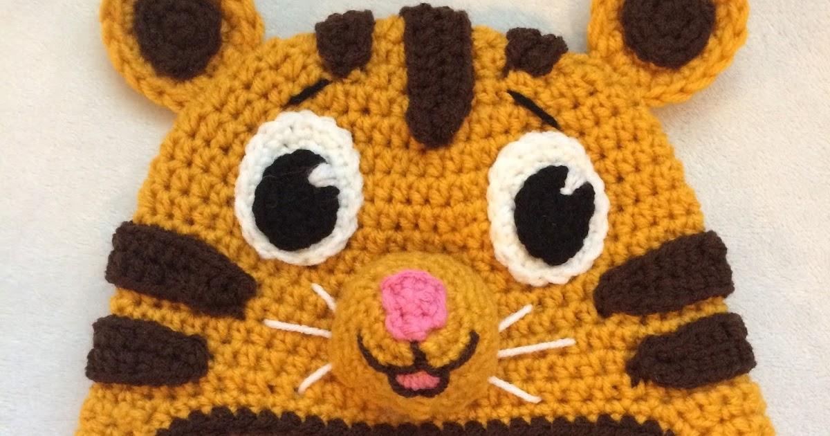 The Crocheting Mom: Crochet Daniel Tiger Hat Pattern - FREE!!!
