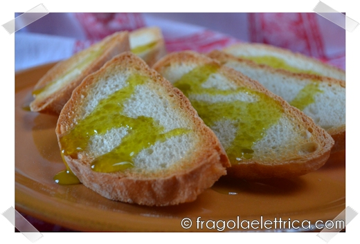 Bruschette all'Olio di Oliva