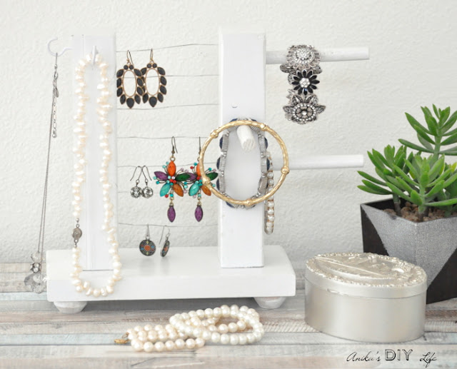 Jewelry Holder Feature and Creativity Unleashed Link Party #205