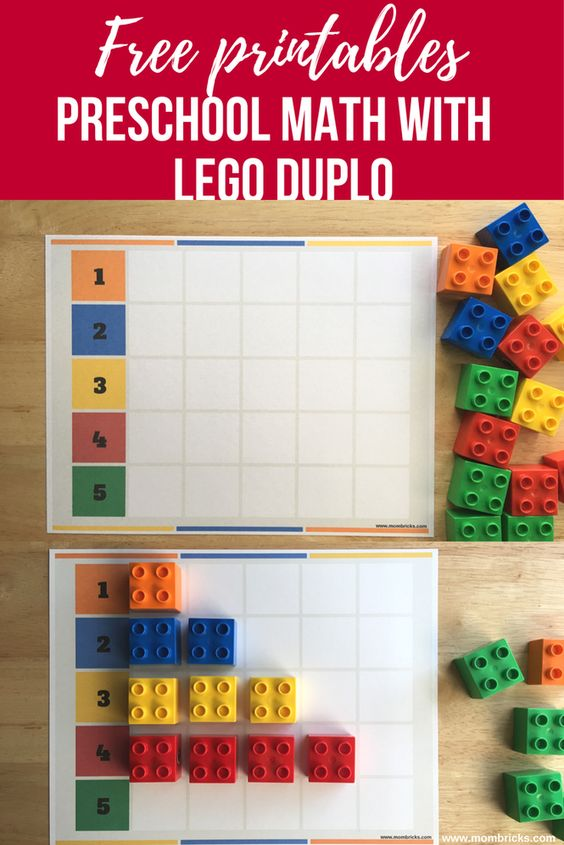 Preschool Math with LEGO DUPLO