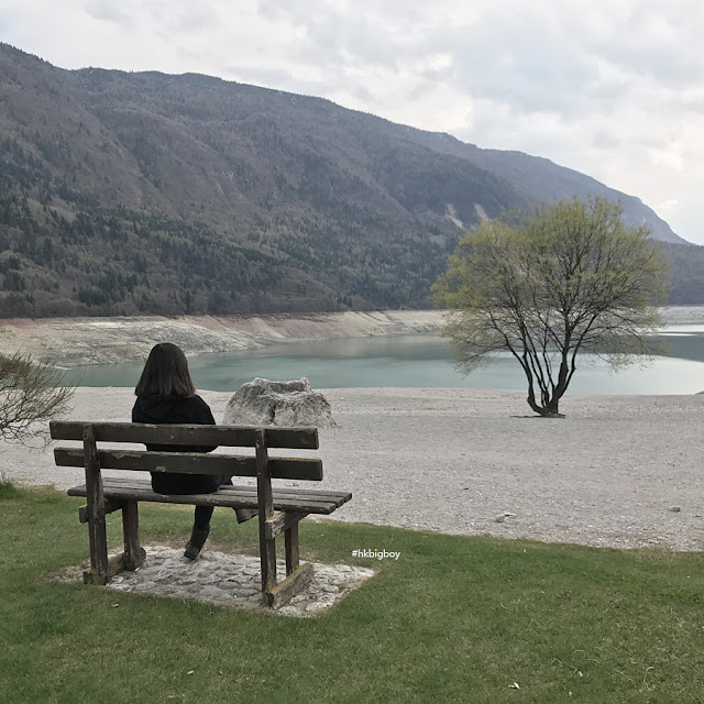 Park near Molveno lake