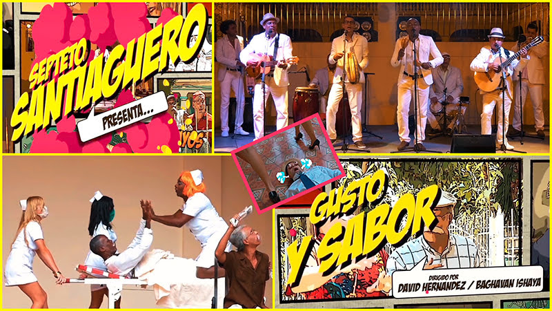 Septeto Santiaguero - ¨Gusto y Sabor¨ - Videoclip - Dirección: David Hernández - Baghavan Ishaya. Portal Del Vídeo Clip Cubano - 01