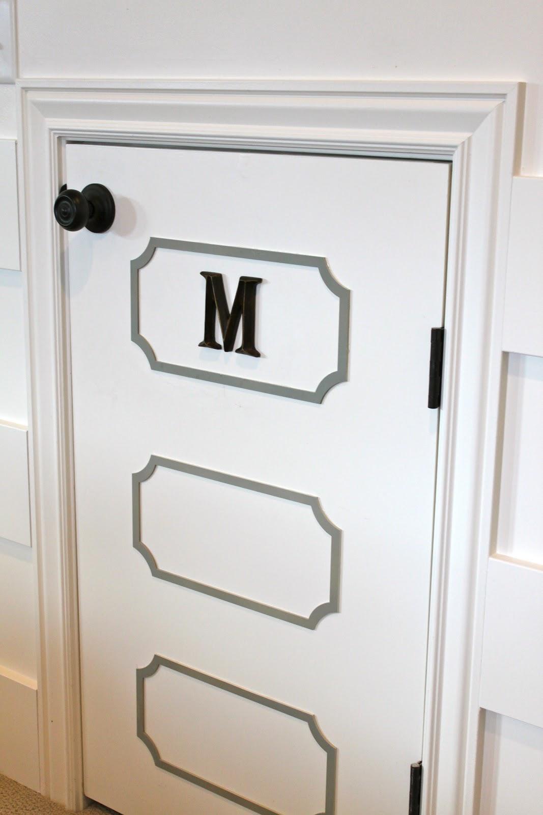 Amy S Casablanca Playroom Door Transformation