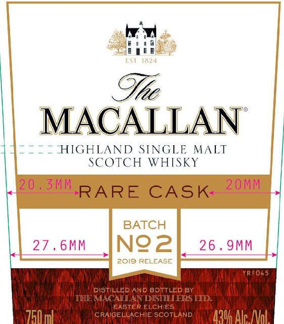 The Macallan Highland Single Malt Scotch Whiskey - B2 2019 Batch No 2