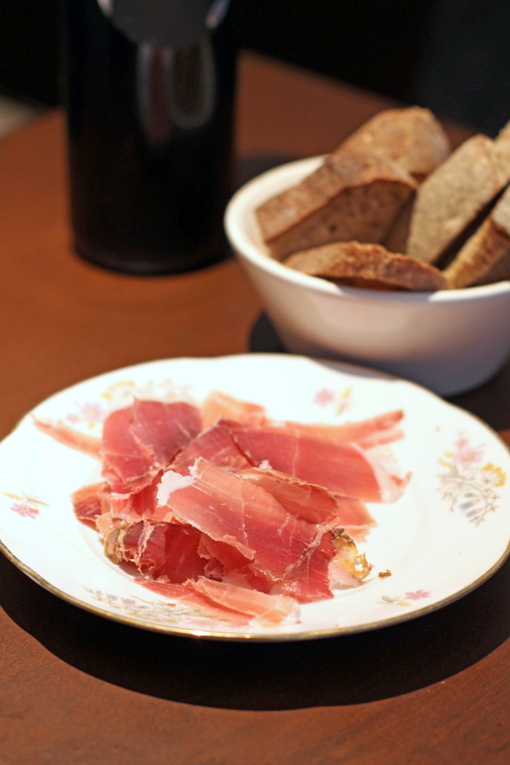 Starters at Enoteca Pomaio, Brick Lane - London lifestyle blog