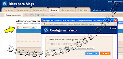 Colocar Favicon no Blogger