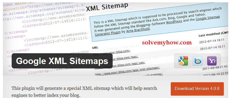 how to create sitemap for wordpress blog solve my how