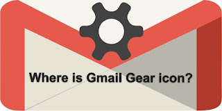 Gmail Gear icon browser