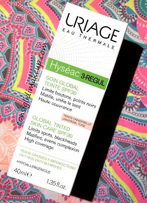 Una crema che dia uniformità curando dall'interno la nostra pelle? Hyséac 3- Regul di Uriage!