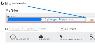 add blog in search engine