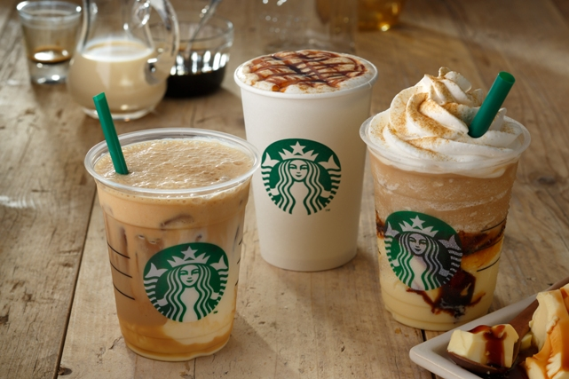 The Pudding Caramel Frappuccino Mixes Your Standard Coffee And It With Slightly Sweet Custard Bittersweet Sauce