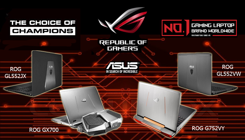 Asus ROG As The Official Gaming Provider For The Manila
