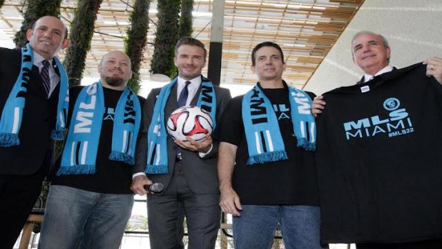 David Beckham Segera Luncurkan Klub Baru di Amerika