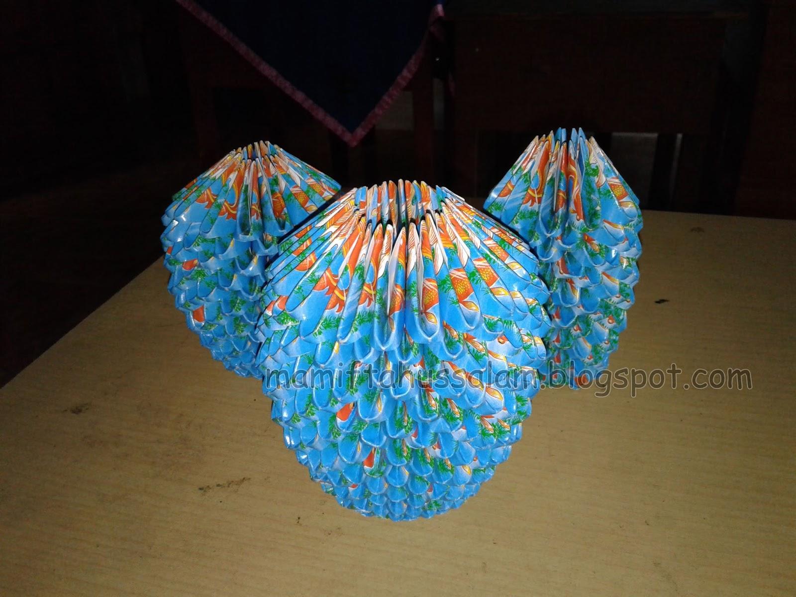 Cara Membuat Vas Bunga Dari Kertas Sampah Karya Siswa Ma