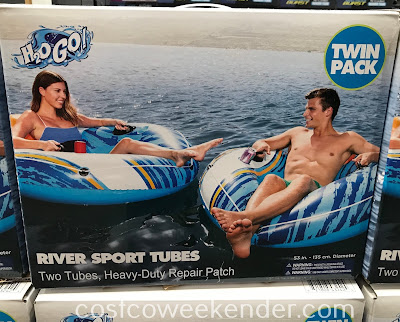 Enjoy the water this summer on a H2O Go River Sport Tube